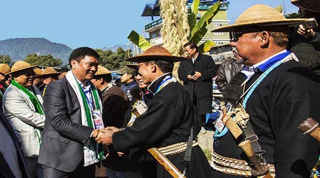 Arunachal: Khandu attends foundation day of Galo Welfare Society