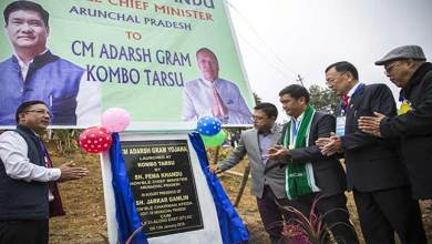 Photo of Arunachal: Khandu inaugurates Adarsh Gram Yojana at Kombo Tarsu village