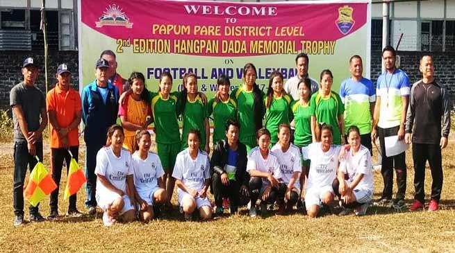 Arunachal: Papum Pare Hangpan Dada Memorial Trophy concludes