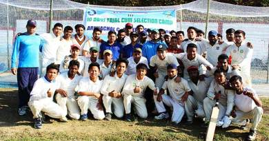 Itanagar: Selection camp for Arunachal Cricket Team begins