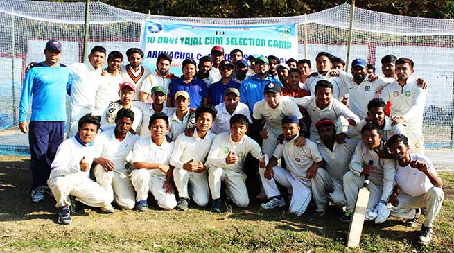 Itanagar:  Selection camp for Arunachal Cricket Team begins