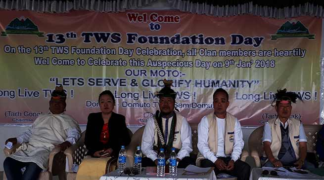 Arunachal: Tarh Welfare Society observed 13 foundation day