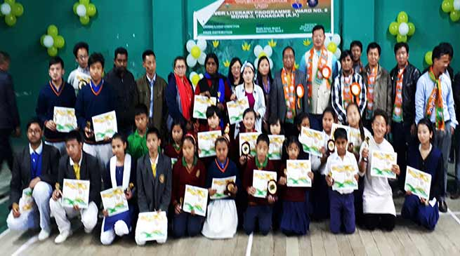 Itanagar: Two day 1st ever literary program for Ward No-9 concludes