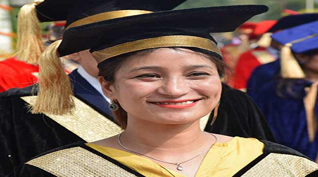 Arunachal: Mountaineer Anshu Jamsenpa conferred with Doctorate Degree