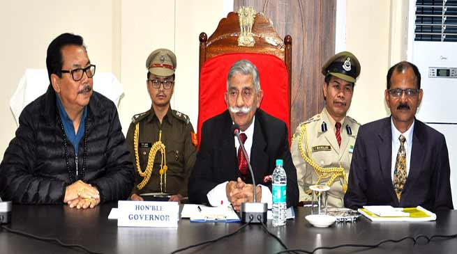 Assam: government officials are pillars of development- Governor B.D. Mishra