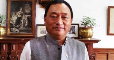 Arunachal: MP Ninong Eringwrites letter to PM Modi on possible threat of natural hazard