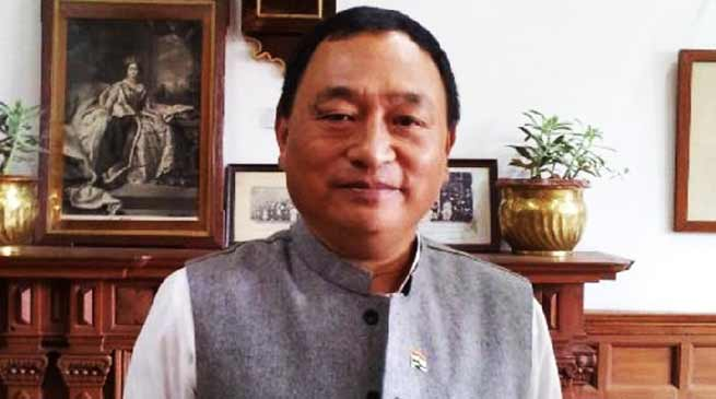 Arunachal:  MP Ninong Ering writes letter to PM Modi on possible threat of natural hazard