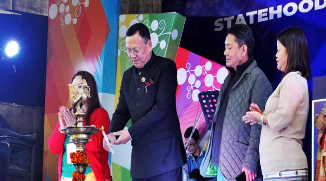 Arunachal: Curtain raiser of 32nd Statehood Day and 1st Officers and Official Idol