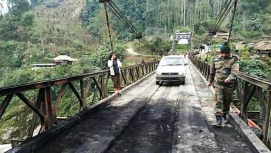 Photo of Arunachal: Miscreants tried to burn Sangam bridge in Siang district