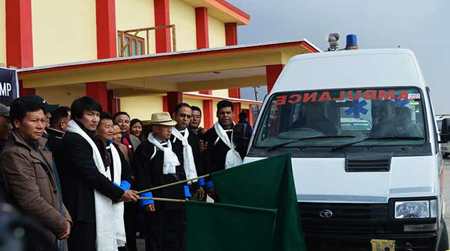 Arunachal: Tashi donates medicines and medical equipment
