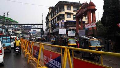 Impact of Arunachal24: Administration changed Road Divider made of Bamboo