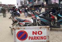 Photo of Arunachal:  Police Violates No Parking rule in Itanagar