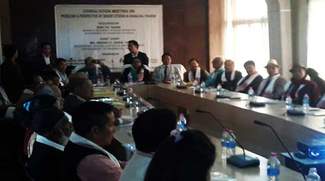 Arunachal: problems and prospective of senior citizen discussed