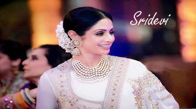 Bollywood Actress Sridevi Passes away in Dubai