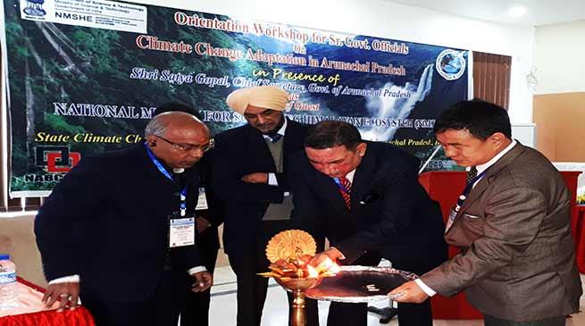 Arunachal: workshop on climate change adaptation in state