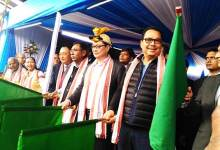 Photo of Arunachal Express Flagged off from Naharlagun