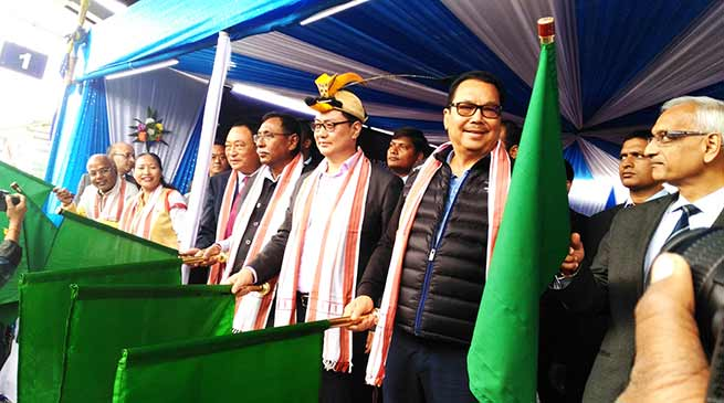 Arunachal Express Flagged off from Naharlagun