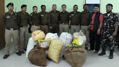 Photo of Arunachal : Capital police seizes huge amount of Ganja, detained 4 person