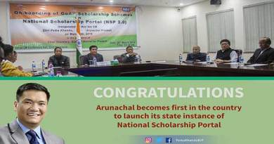 Arunachal : Khandu launches National Scholarship Portal