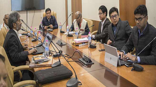 Arunachal: Khandu reviews Status of Power, Road and Drinking water projects