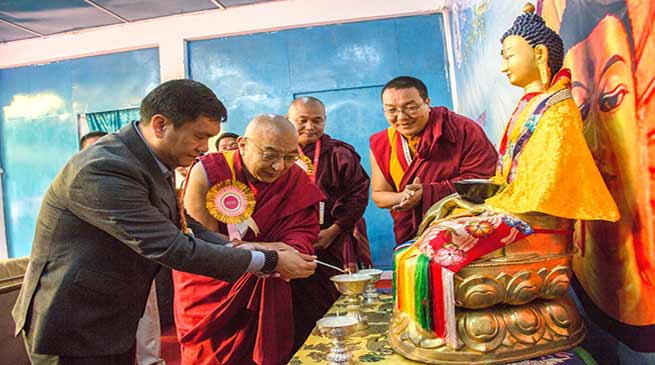 Arunachal: Khandu attends National Conference on Buddhist Education
