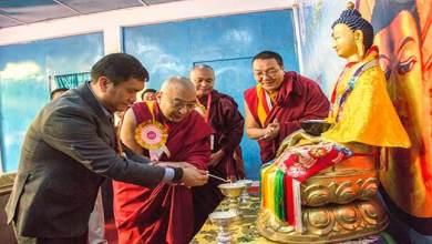 Photo of Arunachal: Khandu attends National Conference on Buddhist Education