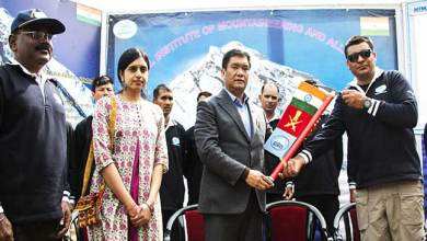 Arunachal: Pema Khandu flags off expedition to Mount Everest at NIMAS