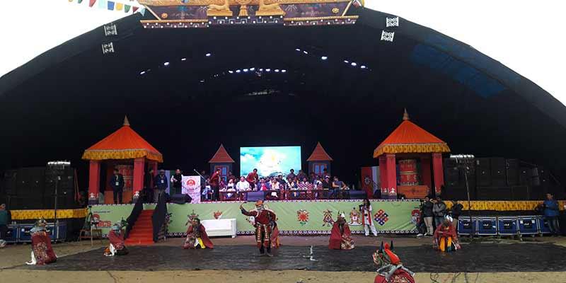 Arunachal : Losar Celebrated at Itanagar