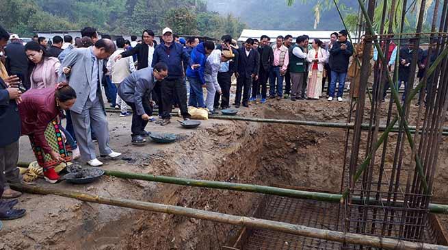 Arunachal: Bengia Tolum lays the foundation for NES Secretariat