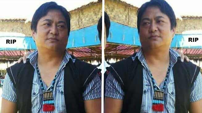 Arunachal : Former AAPSU leader Darasing Tayeng passes away