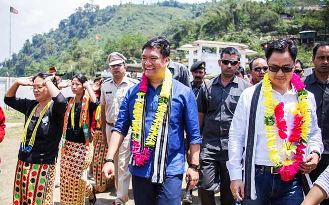 Arunachal: Khandu inaugurates 36th VKV at Chayang Tajo