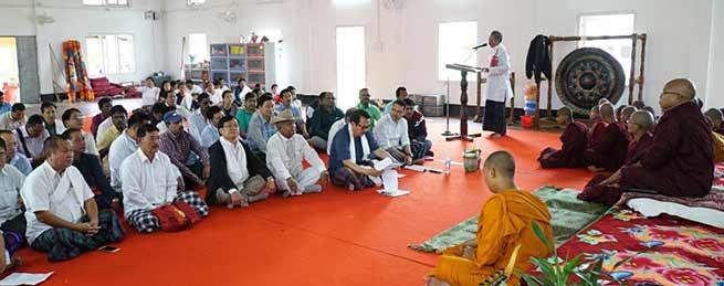 "Arunachal: Dy CM Launches ""Gram Swaraj Abhiyan"" at Namsai"