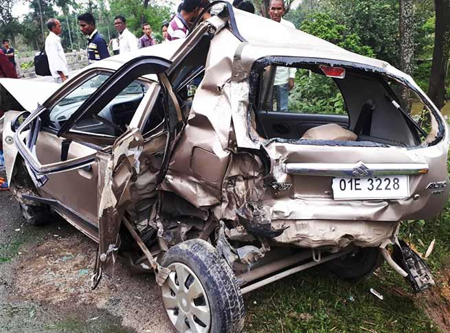 Arunachal: 3 Resident of Nirjuli injured in road accident at Lalook