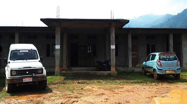 Arunachal : WRD office building is lying idle since 4 yrs in Tirbin