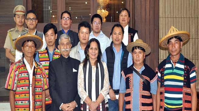 ArunachalGovernor concerned about the high rate of suicide in the Mishmi community