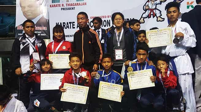 Arunachal: Karate players bring laurels