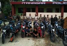 Photo of Arunachal : Capital Police bust gang of bike lifters, 4 arrested