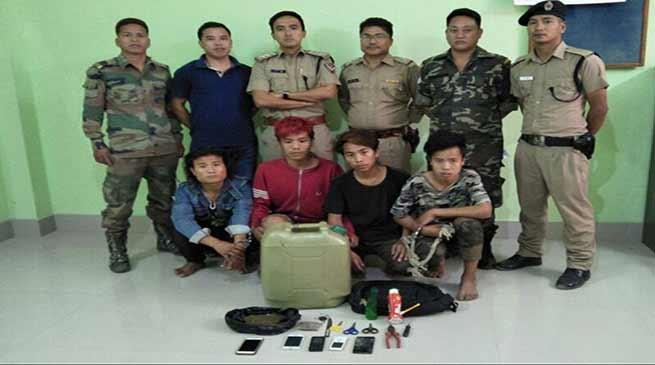 Arunachal : Capital police nab four Bike lifter