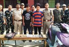 Photo of Itanagr : Capital Police again nabbed two bike lifters