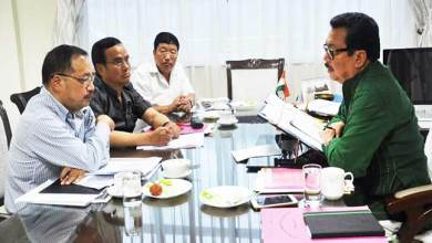 Photo of Arunachal: Mein instructs officials to have the potin-pangin road repaired immediately