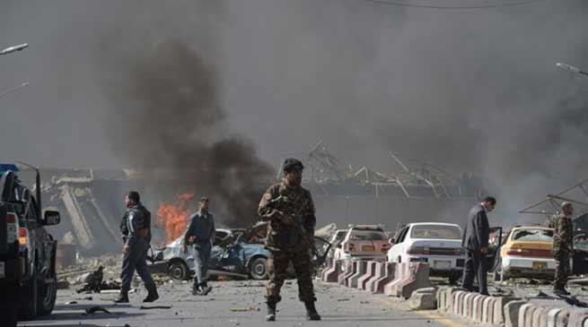 Kabul twin blast: 25 killed including 8 journalist, 11 children, and 49 injured
