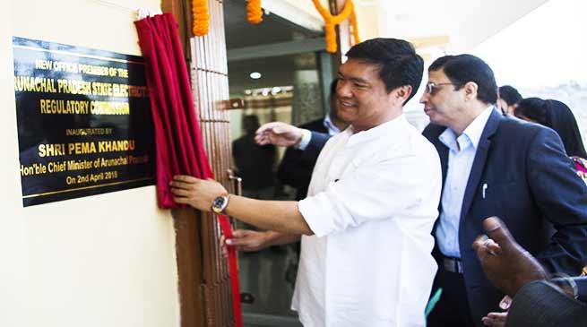 Arunachal : Pema Khandu inaugurates new office of APSERC
