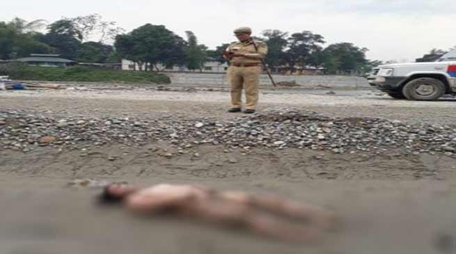 Arunachal:  A Male body retrieved from river Dikrong
