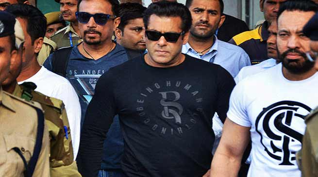 Salman Khan gets 5yrs Jail term in Blackbuck Poaching Case
