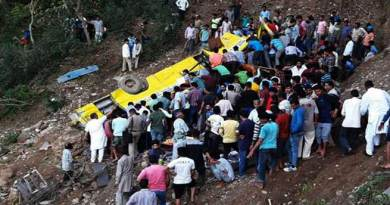 Himachal Pradesh : School bus falls into gorge, 29 dead, 25 injured