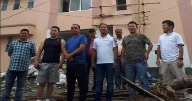 Arunachal: Kaso inspect mini Secretariat building