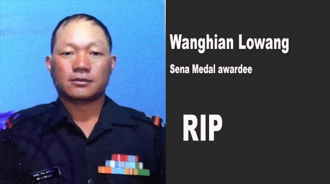 Arunachal CM expresses grief over demise of Sena Medal awardee, Wanghian Lowang