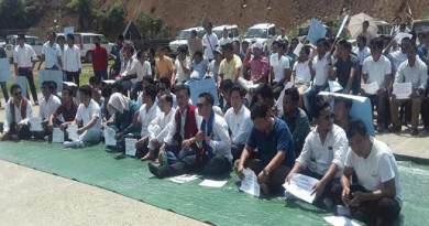Arunachal: AAPSU stages protest over Citizenship (Amendment) Bill