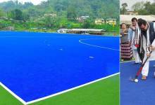 Photo of Arunachal: Mein inaugurates Astro-Turf Hockey Ground at Chimphu