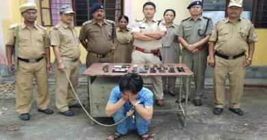 Arunachal: Drug Peddler and Extortionist Arrested in Roing